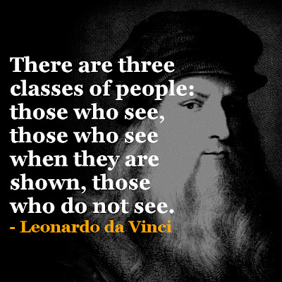 Leonardo da Vinci Inspirational Quote