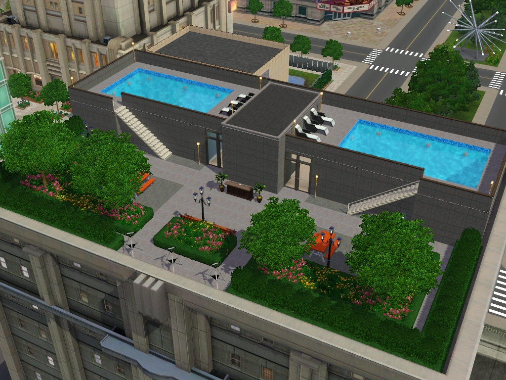 my sims 3 blog gardenia rooftop apartments by my sim realty