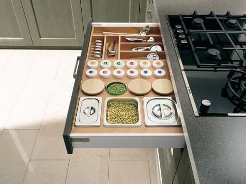 Decoraci n f cil organizar los cajones de cocina for Accesorios para armarios de cocina