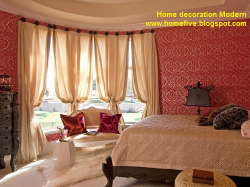 Home Decoration Modern Bedroom Decoration And Romantic