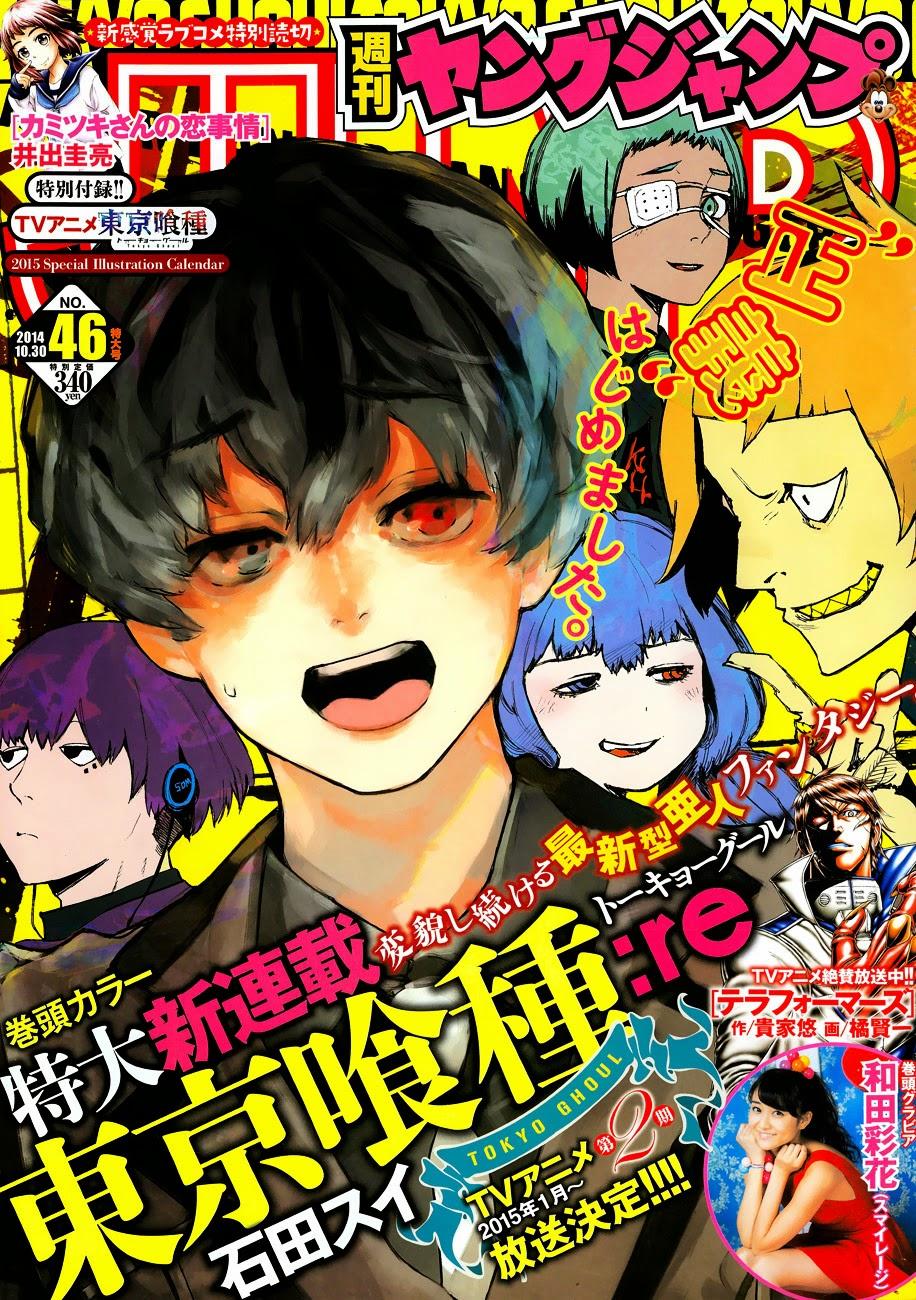 TOKYO GHOUL: RE SPOT TV DEL SEQUEL DEL MANGA DI ISHIDA SUI