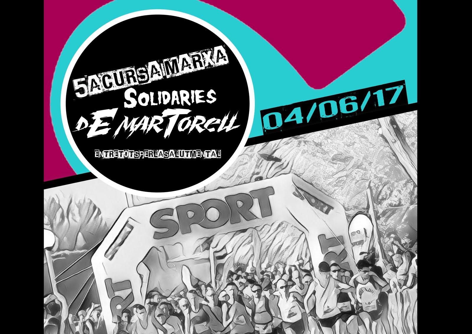 5ª CURSA I MARXA SOLIDÀRIES DE MARTORELL  07-06-2015
