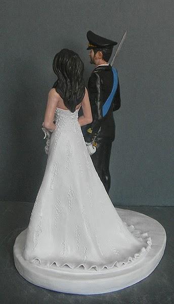 regalo matrimonio topper cake personalizzati torta sposi orme magiche