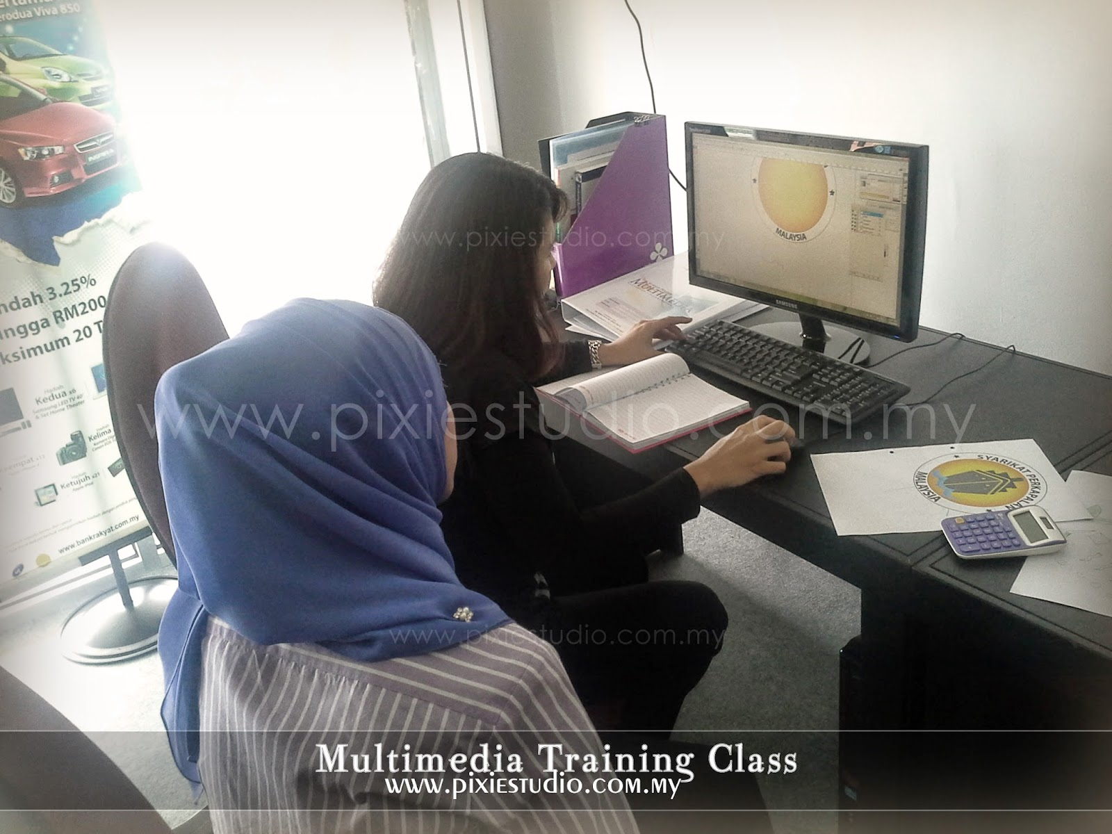kursus photoshop dan illustrator