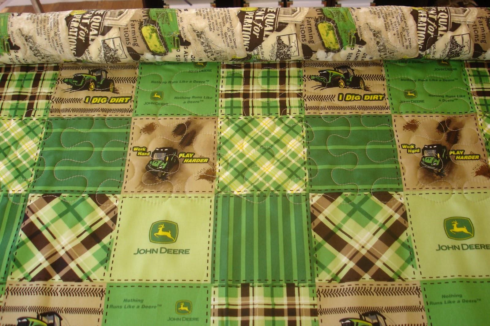 Mugwa Cottage: Quick Quilts : john deere quilts - Adamdwight.com