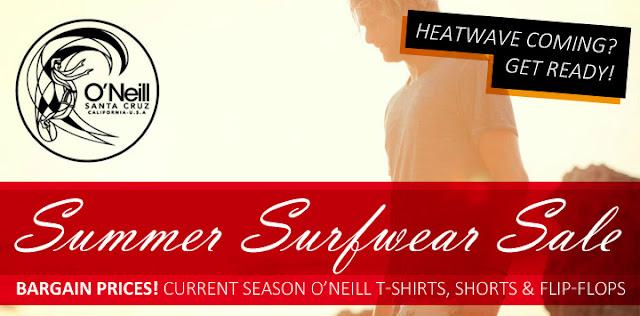 O'Neill surfwear SALE