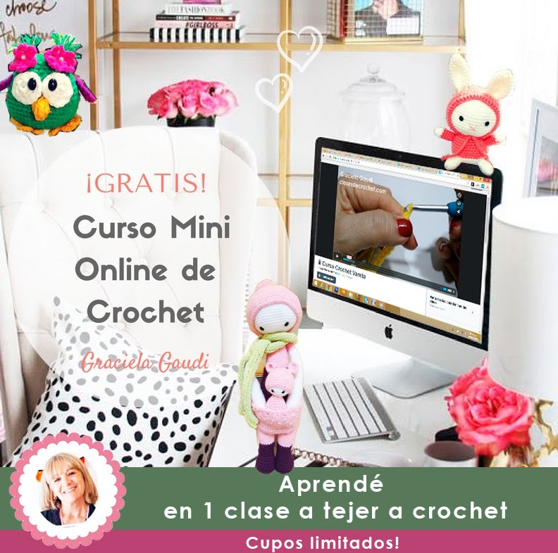 Curso Online de Crochet: GRATIS!