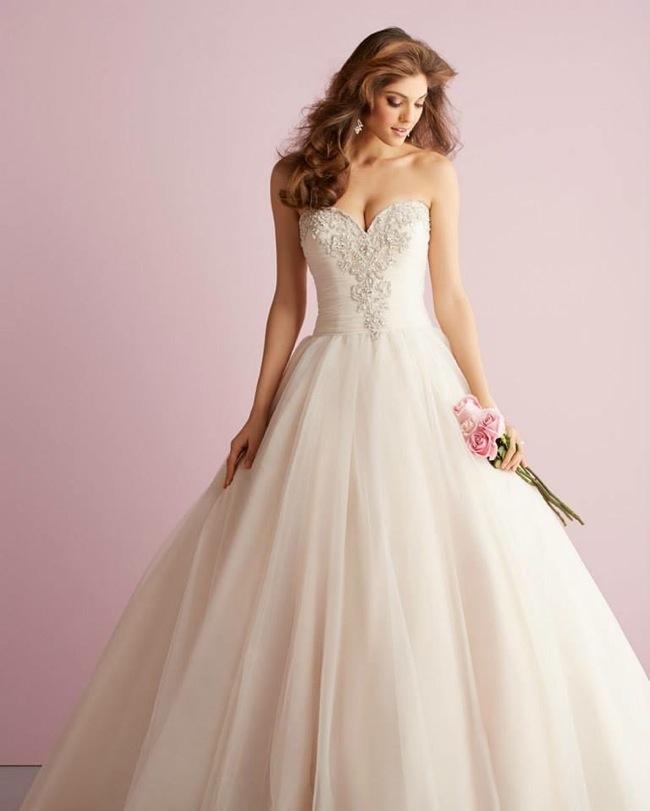 Wedding dresses allure romance spring 2014 collection for Allure romance wedding dress