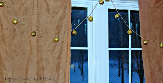 Christmas garland, garland, DIY garland, ornaments