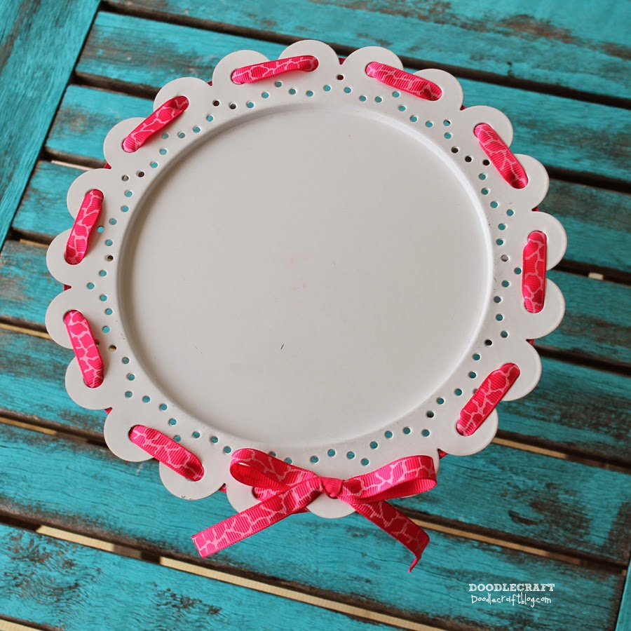 Ribbon Woven Cake Stand! : cake plate with ribbon - pezcame.com