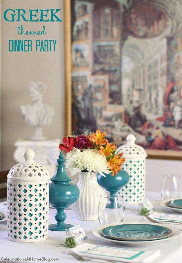 decoracao festa grega:Buffet Magia Festas: Paleta de cores – Inspiração Mediterrânea do