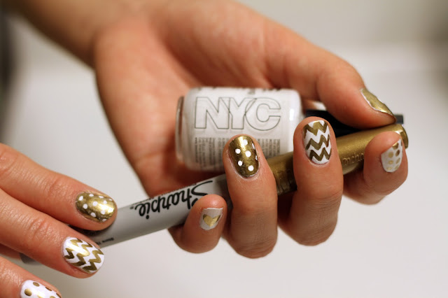 The Enchanting Best white and gold nail designs Digital Photography