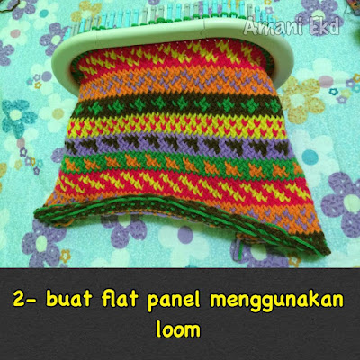 Crochetfun Tutorial Fat Bottom Bag Menggunakan Martha Stewart Loom
