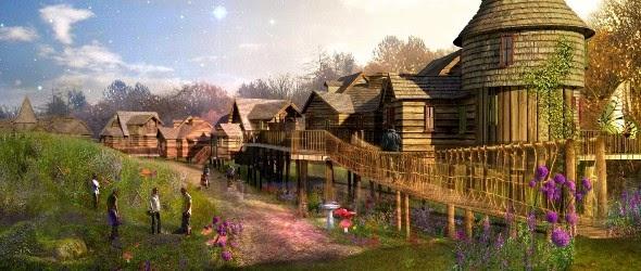 Alton Towers Resort ouvre son village enchanté