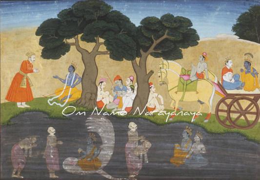 கண்ணன் கதைகள் (53) - அக்ரூரர் தூது, மதுரா நகரப் பயணம்,கண்ணன் கதைகள், குருவாயூரப்பன் கதைகள்