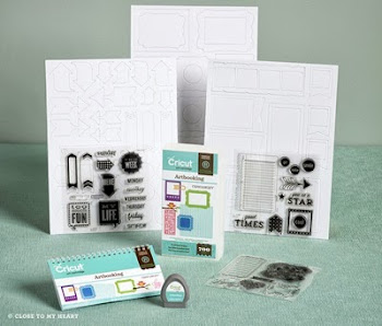 NEW CRICUT -- Artbooking!