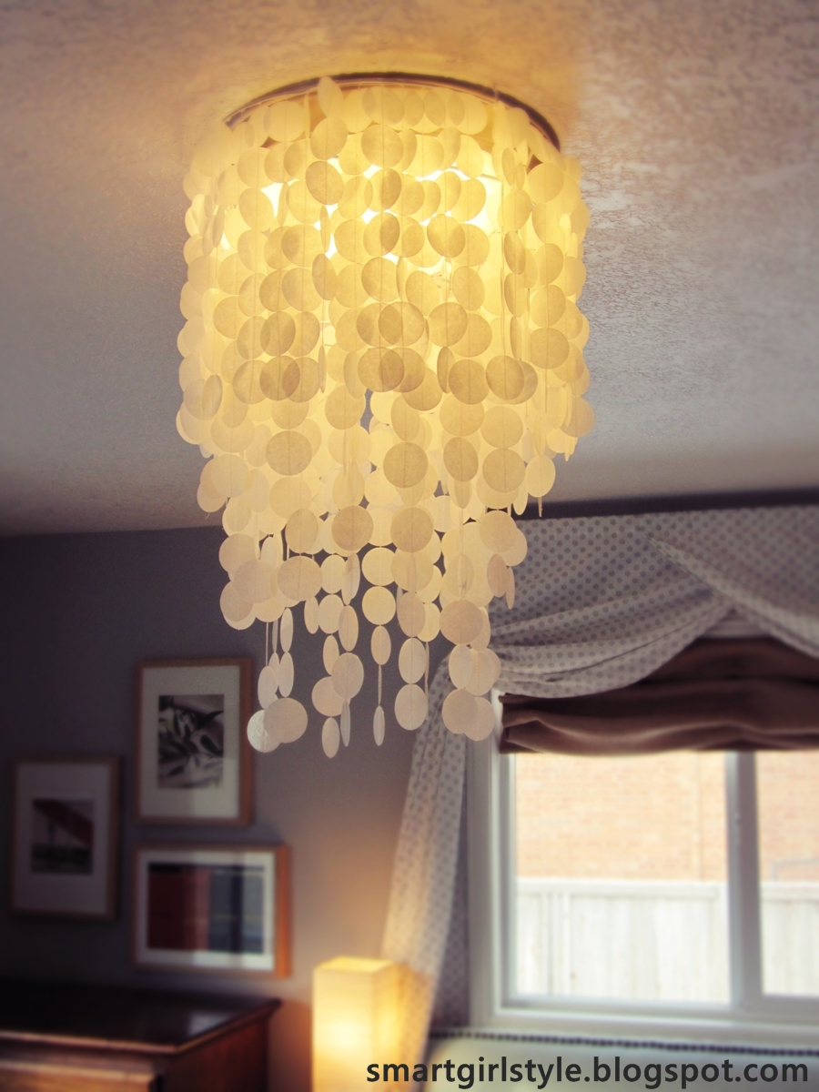 smartgirlstyle master bedroom makeover lighting capiz shell chandelier capiz shell lighting fixtures