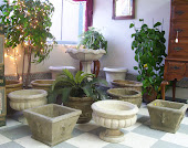 Concrete Planters and Bird Baths