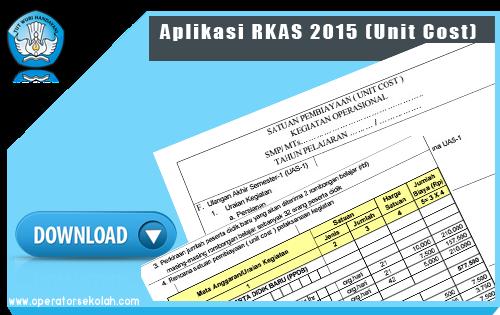 Aplikasi RKAS 2015 (Unit Cost)