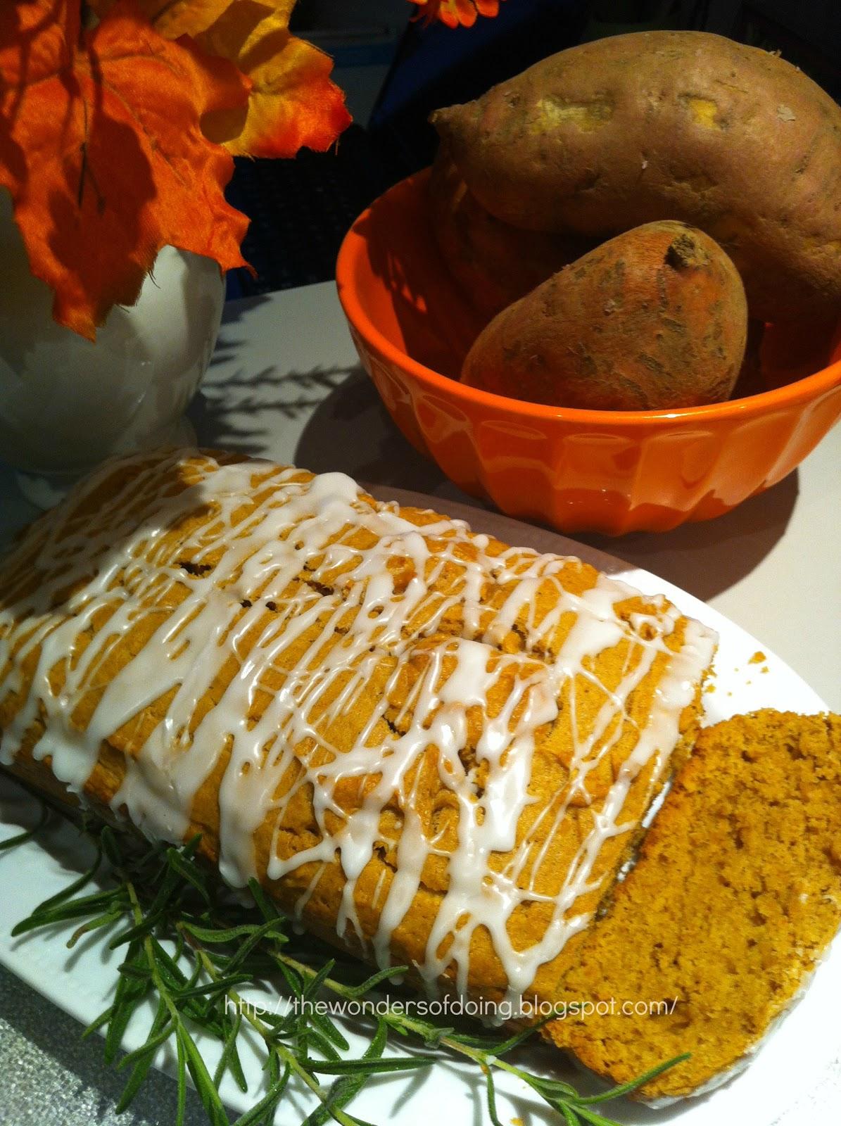 The Wonders of Doing: Sweet Potato Pound Cake... yummm!
