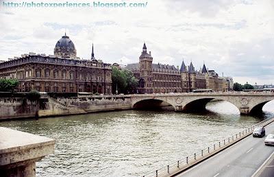 Ile de la Cité y río Sena