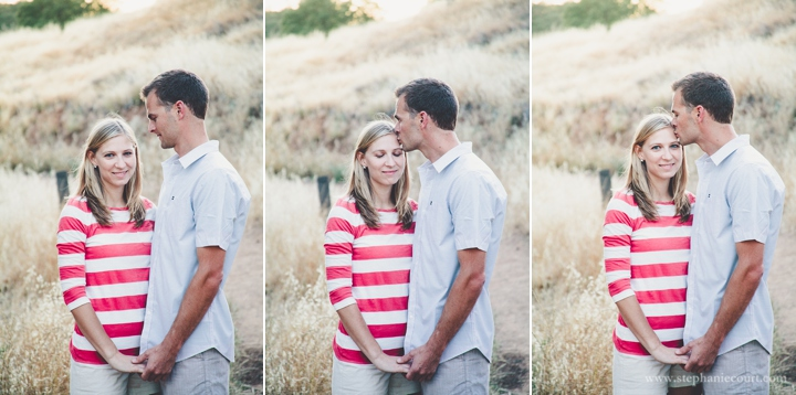 sunset engagement session photos folsom