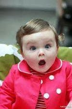 cute kid - Funny expression