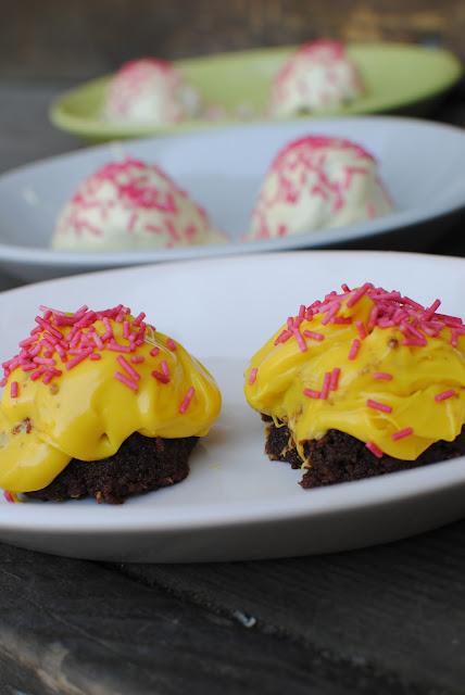 arraksbollar, sockerkaka, recept, dammsugare, blogg, påsk, färga choklad
