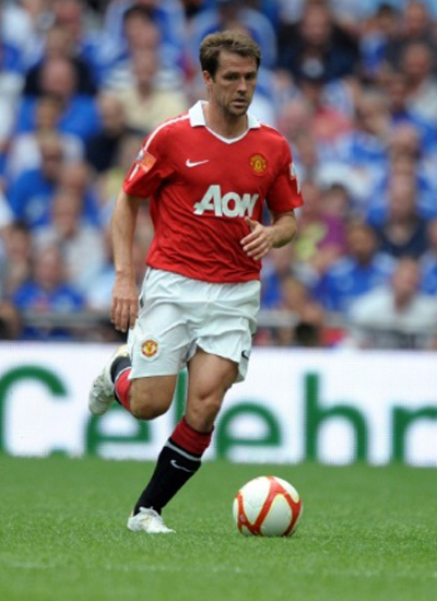 Michael Owen Manhester Uniited Striker 2011-2012