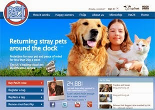 Click to go to the Pet24 Website