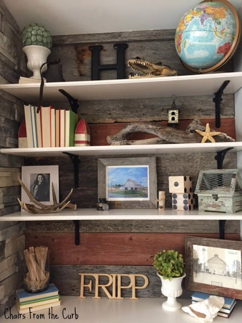 #barnwoodwall #bookshelves