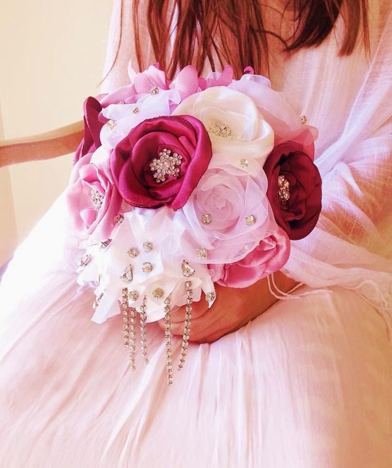 bouquets de rosas rosa