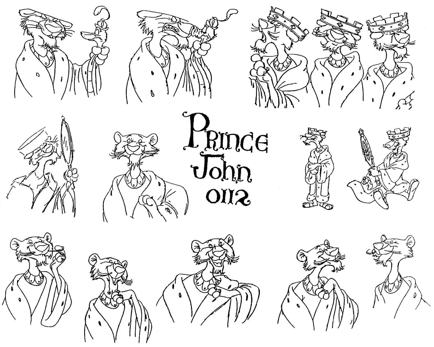 an analysis of king johns personality in disneys version of robin hood From the beautiful maid marian to the evil prince john, there are loads of main robin hood characters from the disney version this quiz gives you a chance to find out which one you are.