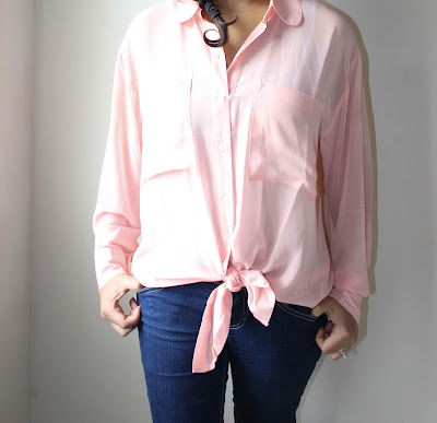 forever21, pink oversized shirt, how to wear