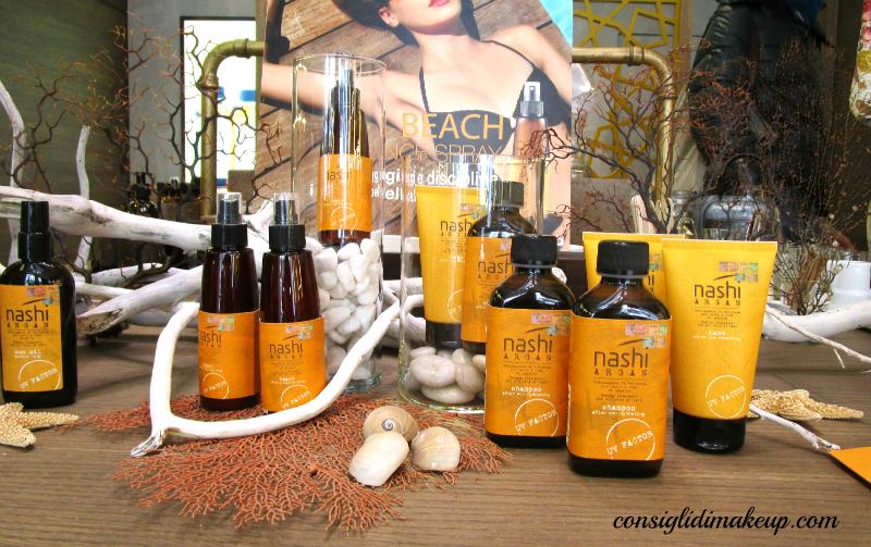 protezione corpo capelli sole nashi argan
