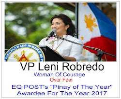 "EQ Post:""Pinoy Of The Year"" Awardee For 2017"