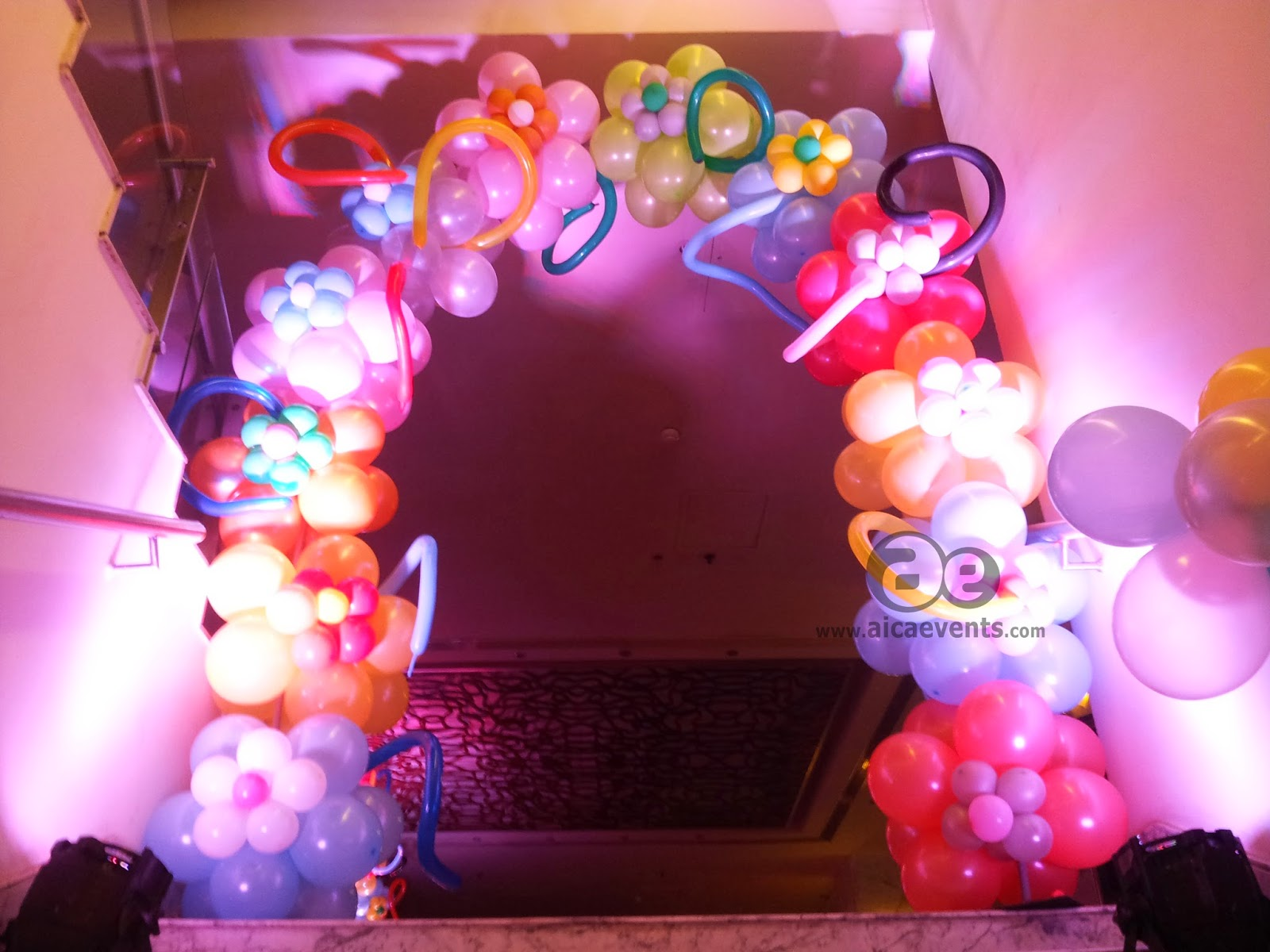 aicaevents: Balloon Decorations for Birthday parties
