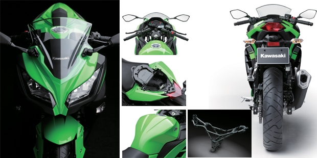 Motor Ninja 300, Ninja 400,Kawasaki Ninja 300, Ninja 400