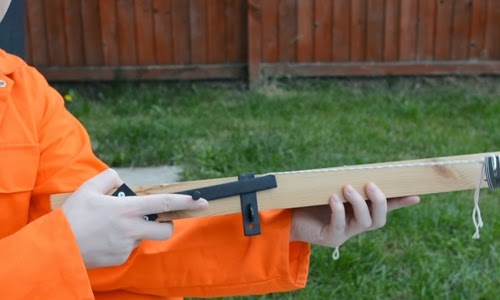 The DIY emergency crossbow trigger feels natural.