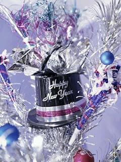 Decoración de Fiestas de Año Nuevo, Centros de Mesa
