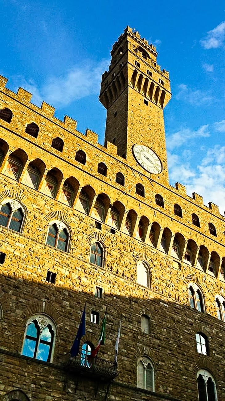 Firenze Palazzo Vecchio veduta Firenze thesparklingcinnamon
