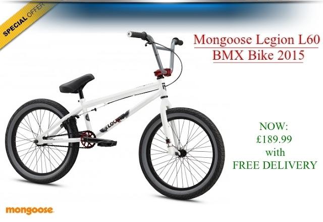 2015 BMX Bike: Mongoose Legion L60