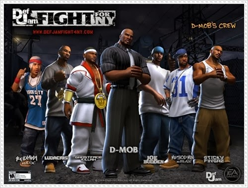 Def Jam Fight For NY Game Cover