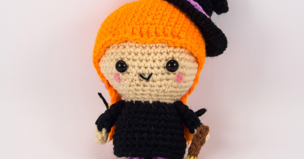 Crochet Patterns Free American Girl Dolls : Made-to-Order Flo the Witch Amigurumi ~ Snacksies ...