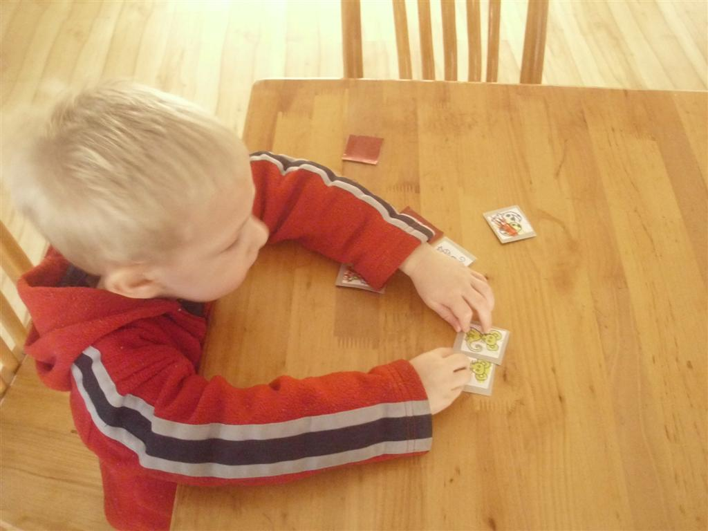 The do it yourself mom chinese new year themed preschool activity we actually did a bunch of variations on this activity but the most basic way to play is like any memory game turn several pairs of cards face down solutioingenieria Choice Image