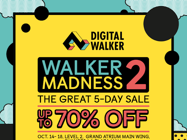 Digital Walker Madness Sale: Holiday Edition
