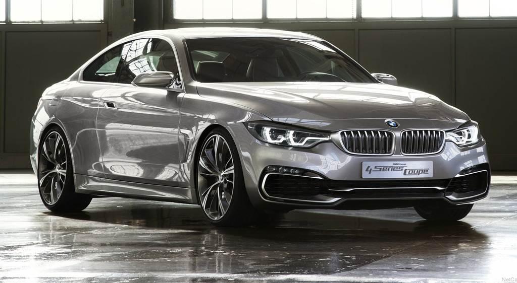 BMW Concept Coupé 4 Series  Detroit 2013