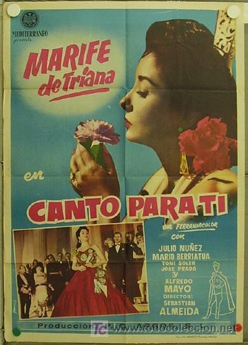 Canto para ti( Año : 1958) Un regalo de Bea y Gingerlynn, muchas gracias.