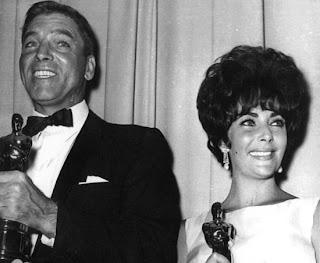El oscar de Burt Lancaster y Elizabeth Taylor