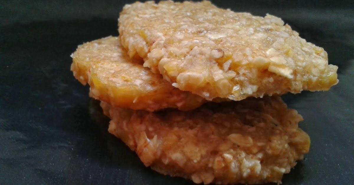Jetsa y la cocina galletas de pl tano y avena microondas for Cocina vegana gourmet
